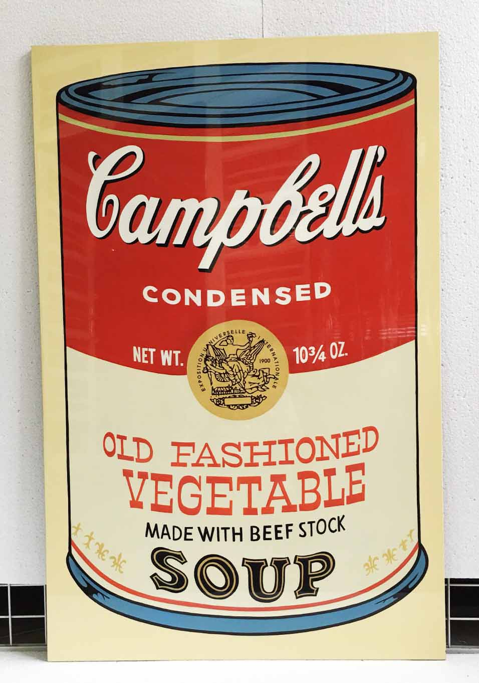 CAMPBELL VEGETABLE SOUP